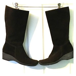 Wind Italian Leather Suede Boots Gommus Soles 39